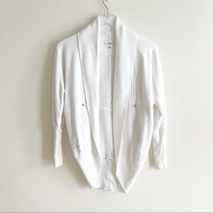 Aritzia Wilfred White Cardigan